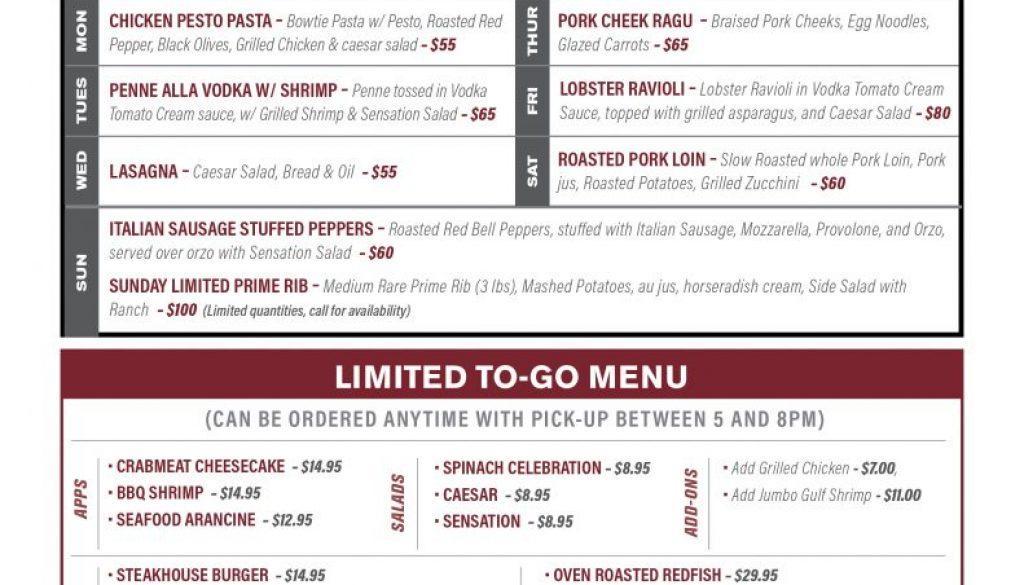 RUF curbside to go menu 4-20 LAF